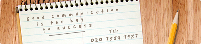 Good communication is the key to success, Call Kensington & Chelsea Tutors now on 020 7584 7987